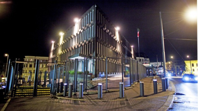 US-Botschaft im Zentrum von Oslo